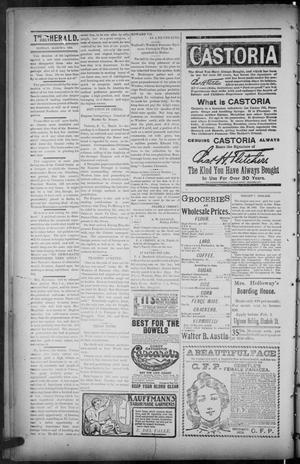 Primary view of object titled 'The Brownsville Daily Herald. (Brownsville, Tex.), Vol. ELEVEN, No. 315, Ed. 1, Monday, March 9, 1903'.
