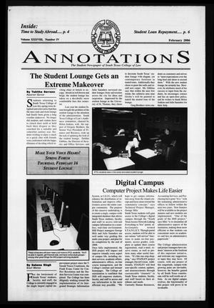 South Texas College of Law Annotations (Houston, Tex.), Vol. 38, No. 4, Ed. 1, February, 2006