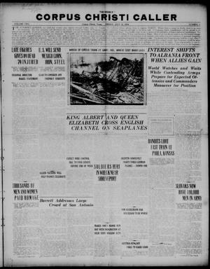 The Weekly Corpus Christi Caller (Corpus Christi, Tex.), Vol. TWO, No. 3, Ed. 1, Friday, July 12, 1918