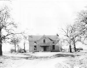 Primary view of object titled 'Weldon Wiles Bobo Home (Halfway House)'.