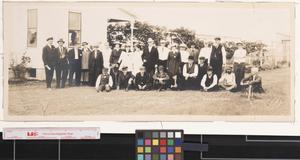 Primary view of object titled 'Sharyland Co. excursion party near Sharyland'.