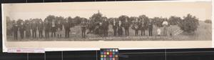 Primary view of object titled 'Excursion party of the Southwestern Land Co. in the Rio Grande Valley'.