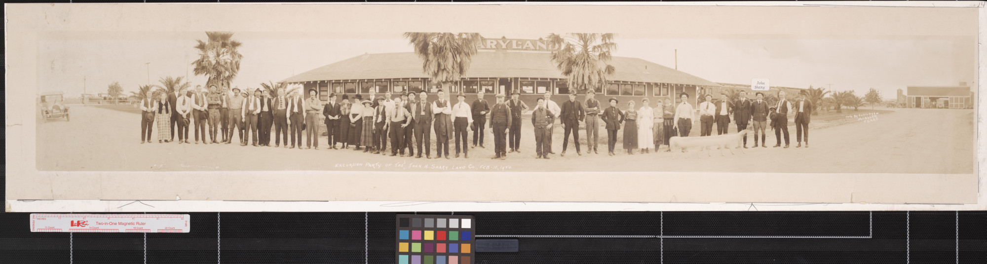Excursion party of the John H. Shary Land Company                                                                                                      [Sequence #]: 1 of 1