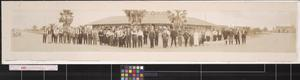 Primary view of object titled 'Excursion party of the John H. Shary Land Company'.