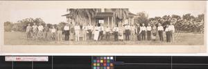 Primary view of object titled 'Sharyland excursion party in the Lower Rio Grande Valley, Texas'.