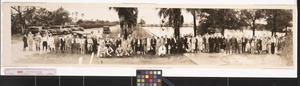 Primary view of object titled 'Southwestern Land Co. excursion party at Sharyland'.