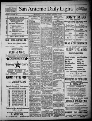 San Antonio Daily Light (San Antonio, Tex.), Vol. 6, No. 357, Ed. 1, Wednesday, December 8, 1886