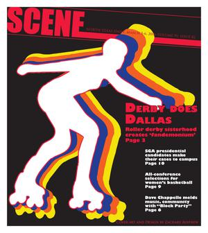 Primary view of object titled 'Scene: North Texas Daily (Denton, Tex.), Vol. 90, No. 82, Ed. 1 Friday, March 3, 2006'.