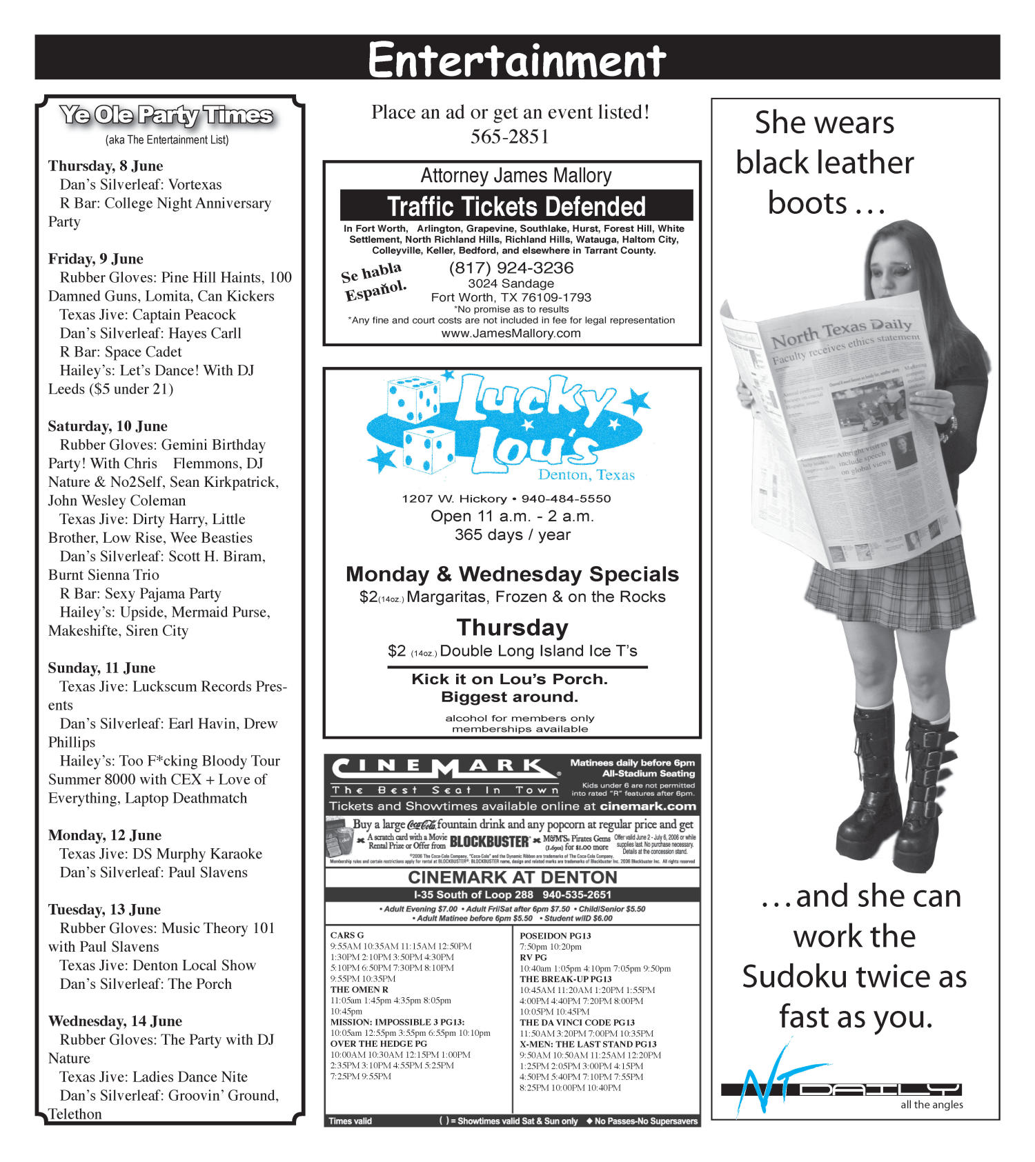 Scene: North Texas Daily (Denton, Tex ), Vol  90, No  111