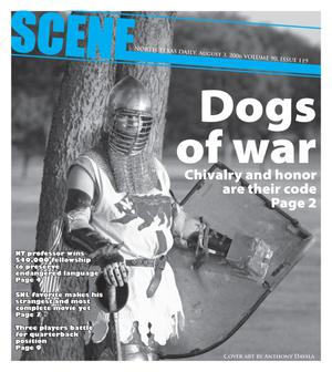 Primary view of object titled 'Scene: North Texas Daily (Denton, Tex.), Vol. 90, No. 119, Ed. 1 Thursday, August 3, 2006'.