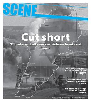 Primary view of object titled 'Scene: North Texas Daily (Denton, Tex.), Vol. 90, No. 120, Ed. 1 Thursday, August 10, 2006'.