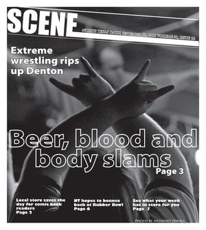 Primary view of object titled 'Scene: North Texas Daily (Denton, Tex.), Vol. 91, No. 16, Ed. 1 Friday, September 22, 2006'.