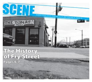 Scene: North Texas Daily (Denton, Tex.), Vol. 91, No. 72, Ed. 1 Friday, February 16, 2007