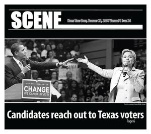 Scene: North Texas Daily (Denton, Tex.), Vol. 91, No. 24, Ed. 1 Friday, February 22, 2008