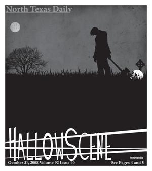 North Texas Daily: HallowScene (Denton, Tex.), Volume 92, Number 40, October 31, 2008