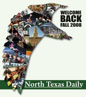 Primary view of object titled 'Welcome Back: North Texas Daily (Denton, Tex.), Fall 2008'.