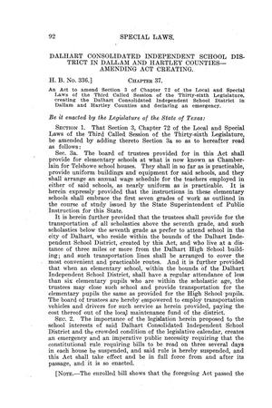 The Laws Of Texas 1920 1921 Volume 20 Page 1003 Of 1183 The