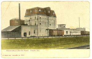 Primary view of object titled 'Roller Mills and Ice Plant'.