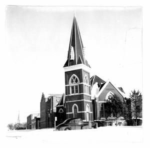 Primary view of object titled 'First Methodist Church'.