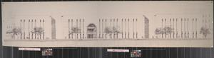 Primary view of object titled '[Willis Library Architectural Rendering]'.
