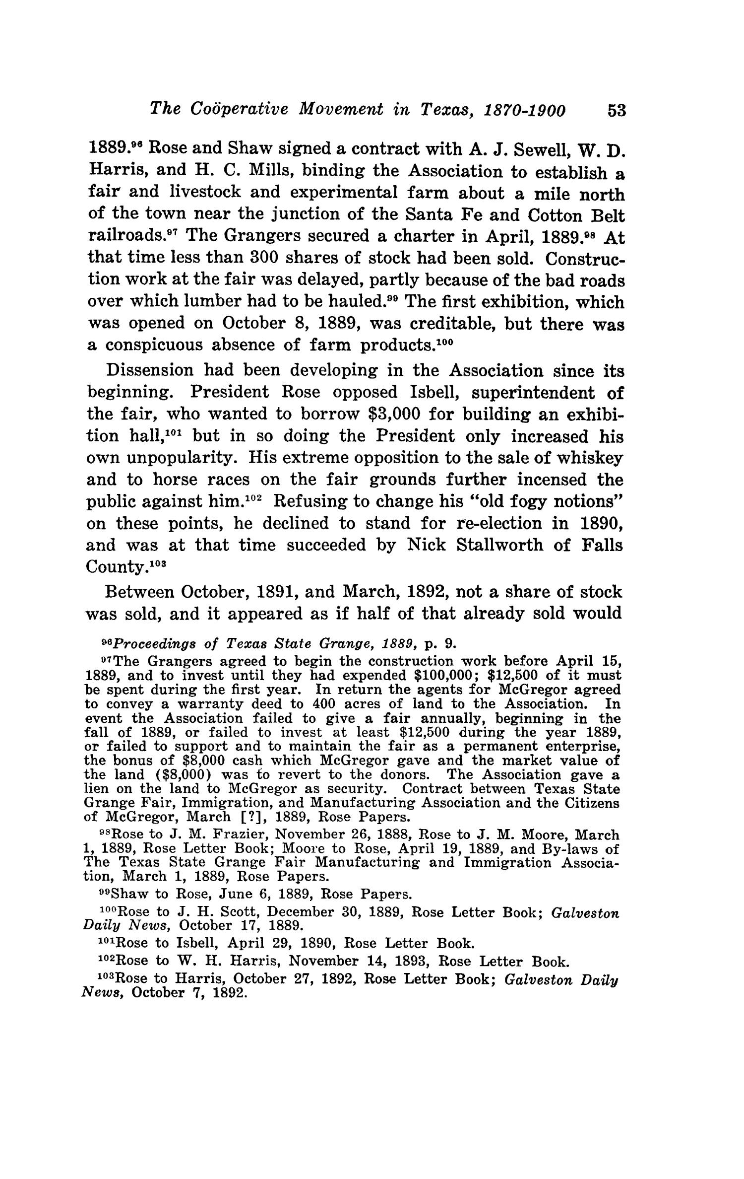 The Southwestern Historical Quarterly, Volume 44, July 1940 - April, 1941                                                                                                      53