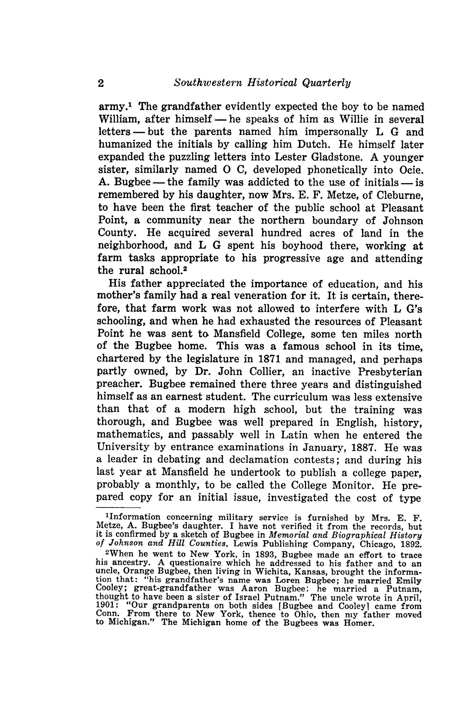The Southwestern Historical Quarterly, Volume 49, July 1945 - April, 1946                                                                                                      2