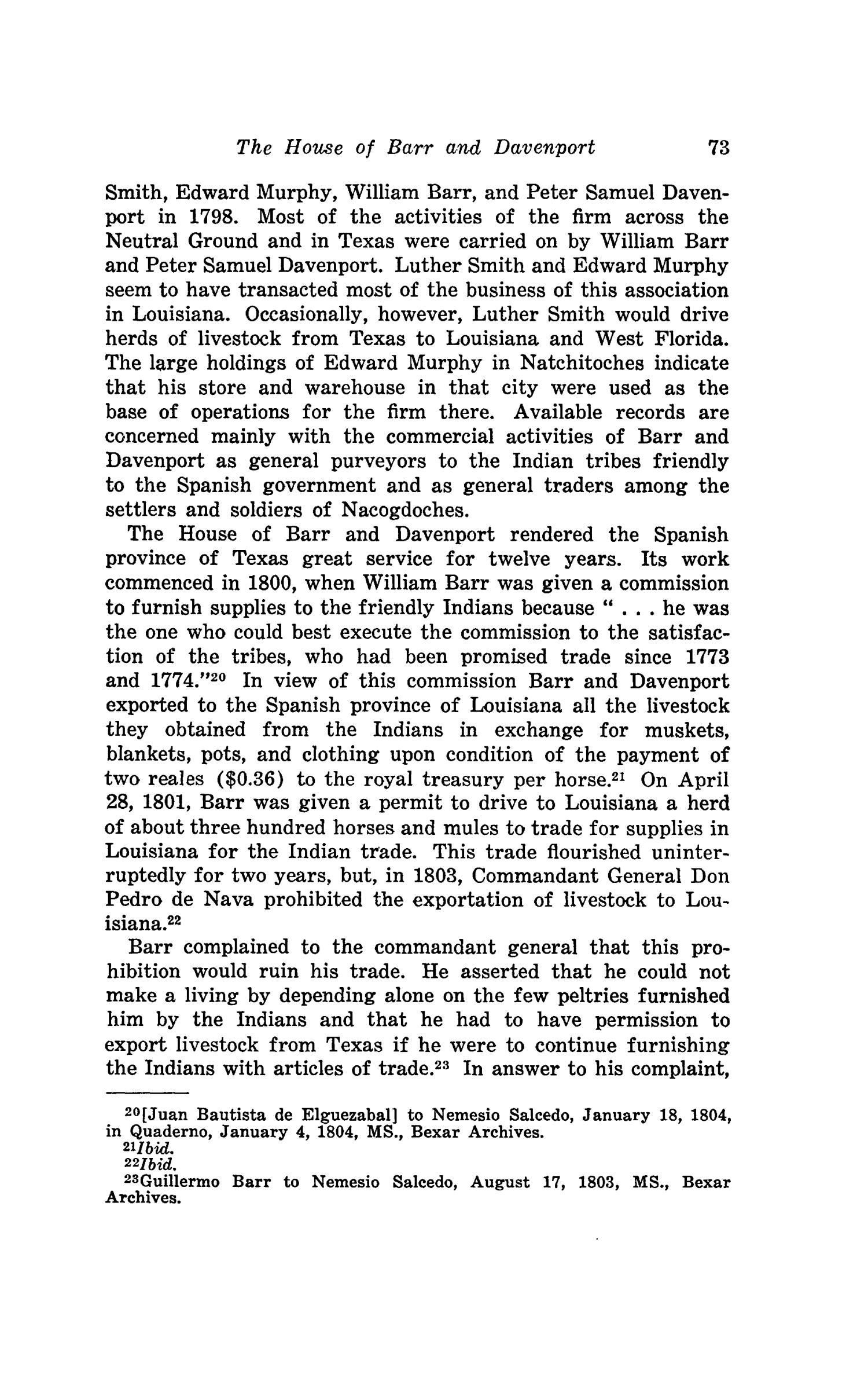 The Southwestern Historical Quarterly, Volume 49, July 1945 - April, 1946                                                                                                      73