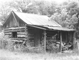 Primary view of object titled 'Wilkerson Log Cabin'.