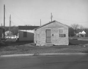 Primary view of object titled 'Housing Project in North Fort Worth'.