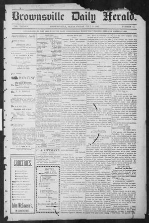 Brownsville Daily Herald (Brownsville, Tex.), Vol. ELEVEN, No. 12, Ed. 1, Friday, July 18, 1902