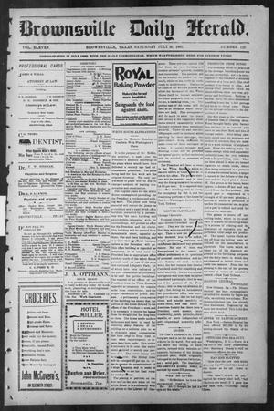 Primary view of object titled 'Brownsville Daily Herald (Brownsville, Tex.), Vol. ELEVEN, No. 129, Ed. 1, Saturday, July 26, 1902'.
