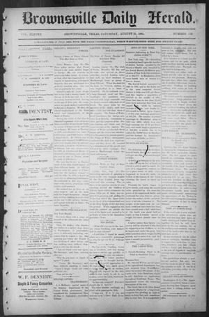 Primary view of object titled 'Brownsville Daily Herald (Brownsville, Tex.), Vol. ELEVEN, No. 153, Ed. 1, Saturday, August 23, 1902'.