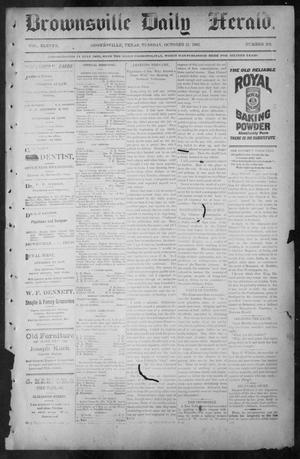 Brownsville Daily Herald (Brownsville, Tex.), Vol. ELEVEN, No. 201, Ed. 1, Tuesday, October 21, 1902