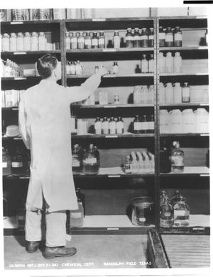 Primary view of object titled 'Chemical Department (Randolph Field)'.