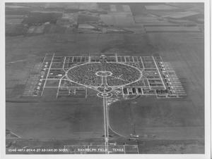 Primary view of object titled 'Overhead View of Randolph Field'.
