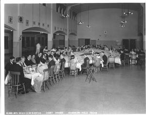 Primary view of object titled 'Cadet Dinner (Randolph Field)'.