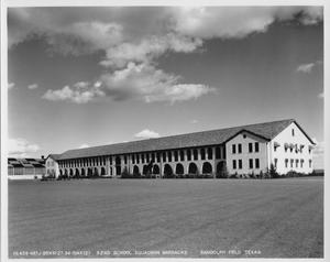 Primary view of object titled '52nd School Squadron Barracks, Randolph Field, Texas'.