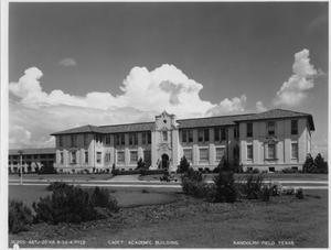 Primary view of object titled 'Cadet Academic Building (Randolph Field)'.