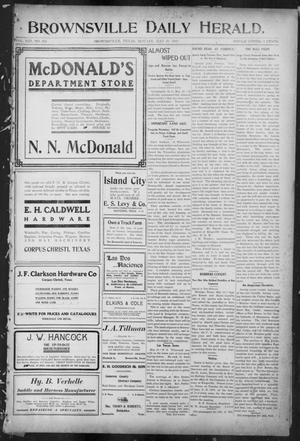 Primary view of object titled 'Brownsville Daily Herald (Brownsville, Tex.), Vol. 13, No. 282, Ed. 1, Monday, May 29, 1905'.