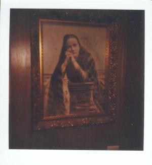 Primary view of object titled '[Photo of portrait of Charlien McNabb.]'.