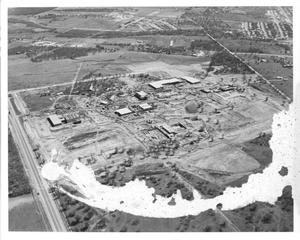 Aerial View of Construction of TCC Northeast Campus