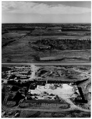 Primary view of object titled 'Aerial View of the Federal Center Construction'.