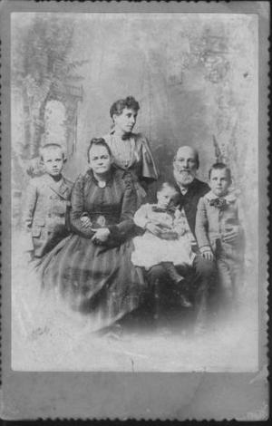 Primary view of object titled '[The Nation family]'.