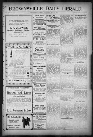Primary view of object titled 'Brownsville Daily Herald (Brownsville, Tex.), Vol. 14, No. 280, Ed. 1, Saturday, May 26, 1906'.