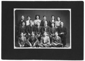 Primary view of object titled 'Group of Boys and Girls'.