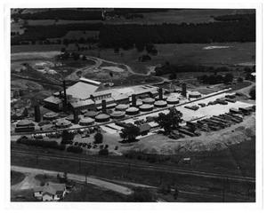 Primary view of object titled 'Aerial View of the Acme Brick Company'.