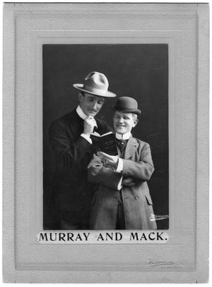 Primary view of object titled 'Murray and Mack'.