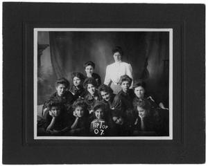 Primary view of object titled 'Girls' Tip-Top Basketball Team'.