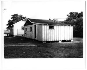 Primary view of object titled 'Exterior View of Two Houses'.