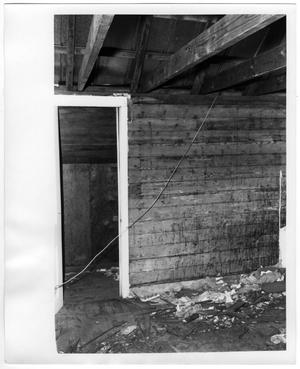 Primary view of object titled 'Wooden Wall and Doorway'.